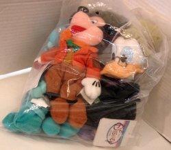 Disney - Christmas Carol Bean Bag Ghost Goofy, Scrooge,& Bob Cratchit Mickey *NIP* *Price to Sale*