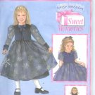 "S4808 Simplicity DAISY KINGDOM Sweet Memories Dress, Jacket Child Size 5-8 and Doll Clothes 18"" Doll"