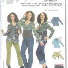 Burda 8139 Pattern MATERNITY Blouse Size 10 -24