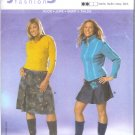 Burda 8114 Pattern YOUNG FASHION Skirt Size 16 - 28
