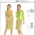 Burda 8188 Pattern International Dress and Jacket Size 8, 10, 12,1 4,16, 18, 20