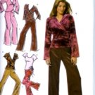 S4887 Simplicity Pattern @ HOME Pants, Knit Tops Misses Size DD 4, 6, 8, 10