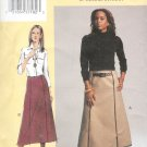 V7802 Vogue Pattern TODAYS FIT Skirt Misses/Misses Petite Size A, B, C