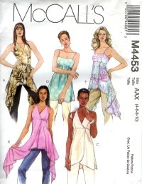 M4453 McCalls Pattern Tunics Misses Size 8-10-12-14