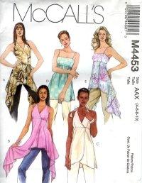 M4453 McCallsPattern Tunics Misses Size AAX 4-6-8-10
