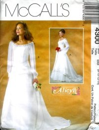 M4300 McCall Pattern ALICYN EXCLUSIVES Lined Dresses Misses Petite Size 10 - 16 * Lowered Price*