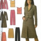 S4791 Simplicity Pattern EASY  Pants, Skirt, Top & Lined Coat or Jacket Petite Misses Size 12- 20