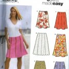 S5199 Simiplicity Pattern 6 EASY Skirts Gored each in 2 lengths Misses Size HH 6-12