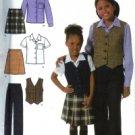 S4978 Simplicity Pattern Pants, Skirt, Shirt & Vest Childs & Girls Size 3, 4, 5, 6