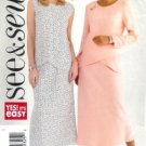 B4424 Butterick Pattern EASY Top & Skirt  Misses Size 20 -22- 24