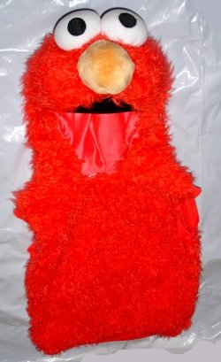 ELMO Plush Costume Vest - Unisex Child size 1 - 2 *Price to Sale* FREE SHIPPING *