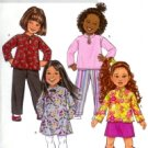B4334 Butterick Pattern EASY Top, Dress, Skirt, & Pants Child/Girl Size 2 - 5