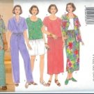 B4950 Butterick Pattern EASY Shirt, Top, Skirt, Shorts & Pants Womens Size 28W - 30W - 32W