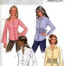 B4345 Butterick Pattern EASY Shirt Misses Size 8 - 10 -12 -14