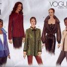 V2615 Vogue BASIC DESIGN Pattern Jacket Miss Size 14, 16, 18