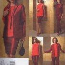 VP961 Vogue Pattern Tom and Linda Platt Jacket , Tunic, Skirt, Pants Miss Petite Size 20-22-24