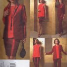 VP961 Vogue Pattern Tom and Linda Platt Jacket , Tunic, Skirt, Pants Miss Petite Size 14-16-18