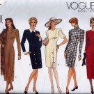 V1010 Vogue Pattern *BASIC DESIGN* Dress Miss Petite Size 6, 8, 10
