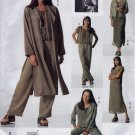 V2148 Vogue Pattern ADRI Jacket, Duster, Dress, Top, Slip, Pants Miss Petite Size 12, 14, 16