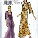 V7793 Vogue Pattern VERY EASY Dress Misses Size 6, 8, 10