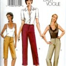 V7858 Vogue Pattern VERY EASY Pants Miss Petite Size 6, 8, 10