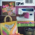 BP177 Butterick Pattern FAT QUARTERS Handbags