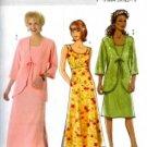 B4548 Butterick Pattern Jacket and Dress Miss Petite Size 16-18-20-22