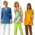 B4553 Butterick Pattern Top and Pants Miss Size 8-10-12-14