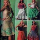 S4235 Simplicity Pattern UNIQUE Skirts Miss Size 6, 8, 10, 12