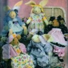 S4594 Simplicity Pattern BUNNIES and BEARS by ERICA GRACE