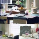 S4615 Simplicity Pattern LUXURY  with a  LITTLE CREATIVITY Table Settings