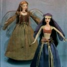 "S4696 Simplicity Pattern 11 1/2"" Doll Fashion Doll Makeover and Clothes"
