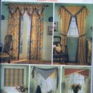 S5050 Simplicity Pattern SHOW HOUSE WINDOWS - FRENCH COUNTRY Window Treatment