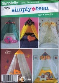 S5126 Simplicity Pattern SIMPLY TEEN Easy Canopies