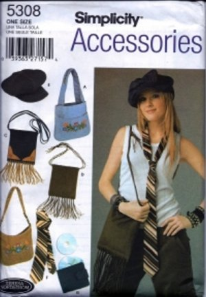 S5308 Simplicity Pattern ACCESSORIES by TERESA NORDSTROM
