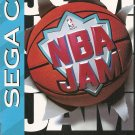 NBA Jam - Instruction Booklet (Sega CD)