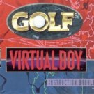 Golf - Instruction Booklet (Nintendo Virtual Boy, 1995)