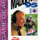 Madden 95 - Instruction Booklet (Sega Game Gear, 1994)