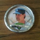 1990 Topps Coin - Tim Belcher #38 L.A. Dodgers, Pitcher **RARE**