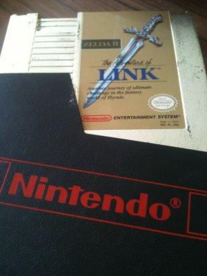 Zelda II - The Adventure of Link (Nintendo NES, 1988)