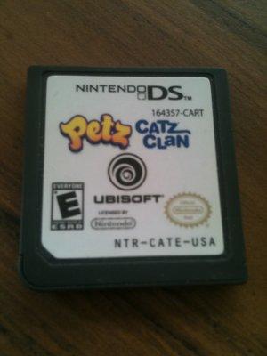 Petz - Catz Clan (Nintendo DS, 2008)