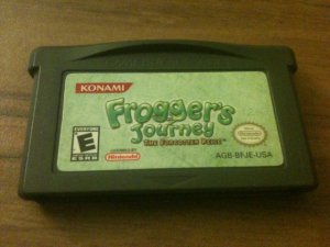 Frogger's Journey - The Forgotten Relic (Nintendo Game Boy Advance, 2003)