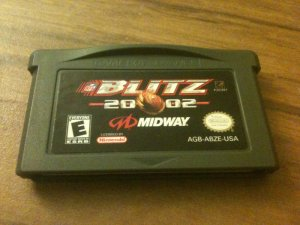 NFL Blitz 2002 (Nintendo Game Boy Advance, 2001)
