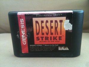 Desert Strike - Return To The Gulf (Sega Genesis, 1994)