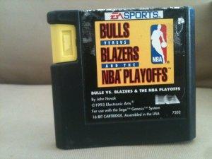 Bulls versus Blazers and the NBA Playoffs (Sega Genesis, 1993)