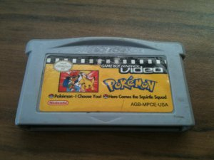 GBA Video: Pokemon - I Choose You/Here Comes The Squirtle Squad (Nintendo Game Boy Advance, 2004)