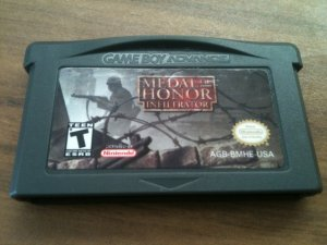 Medal of Honor: Infiltrator (Nintendo Game Boy Advance, 2003)