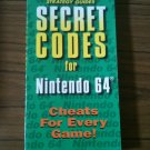 Secret Codes for Nintendo 64 (Brady Games, 1997)