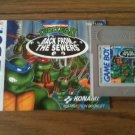 Teenage Mutant Ninja Turtles II - Back From The Sewers w/ Manual (Nintendo Game Boy, 1991)