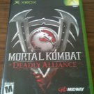 Mortal Kombat - Deadly Alliance (Microsoft Xbox, 2002)